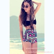 Bohemia Style High Waist Bikini