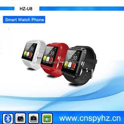 2015 Latest Waterproof Android U8 Smart Watch Phone,New Smart ,Bluetooth Watch cell Phone , Bluetooth Watch Phone U8