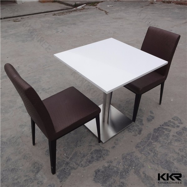 square artificial stone kitchen table and chairs modern kitchen tables