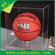 2015 New products, acrylic basketball/baseball/shoes display box for home decoration