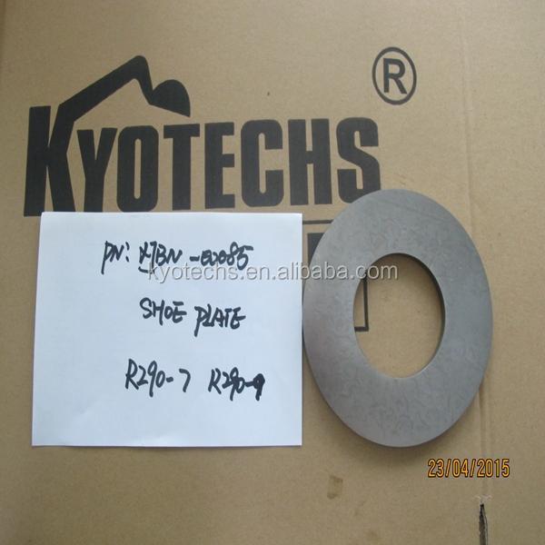 HYDRAULIC PUMP PARTS SHOE PLATE FOR XJBN-00085 R290-7 R290-9.jpg
