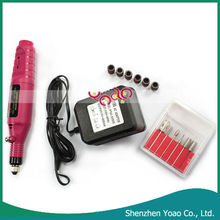 Hot Sale 6 Bit Acrylic UV GEL+ Electric Nail Drill