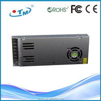 led transformer led SMPS extra slim series led driver ac to dc 5v 200w 40A high efficiency power with CE,FCC,Rohs
