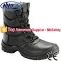 Nmsafety alta corte de segurança botas de biqueira de aço bota de trabalho