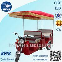 India passenger three wheel electric rickshaw