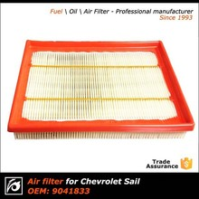 Car Air Filter 9041833 for 2010 -2014 new Chevrolet Sail 1.2 /1.4