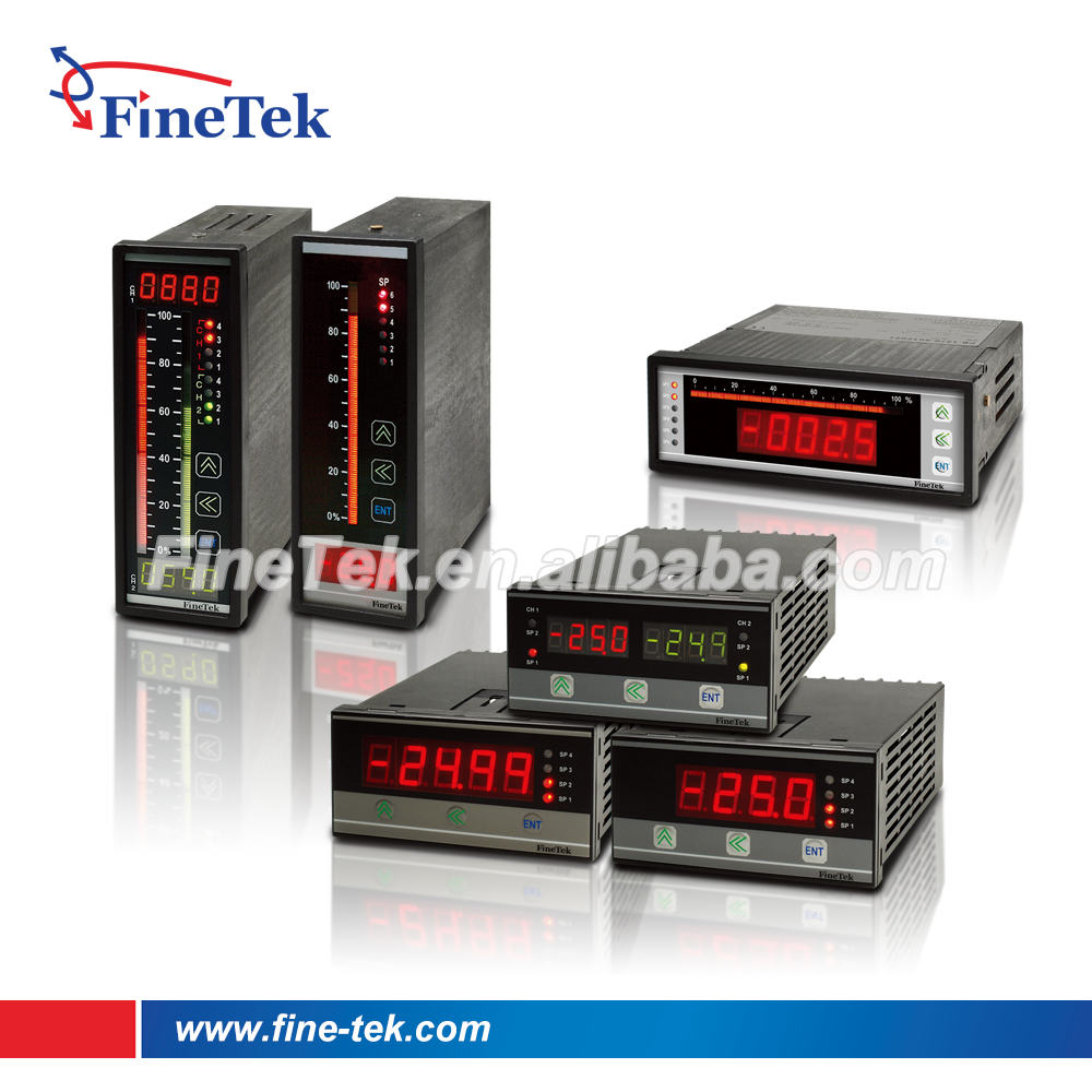 Dc Voltage Digital Panel Meters : Finetek digital power meter panel ac dc