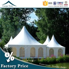 China Wholesale 4mx4m Pagoda Tent With Waterproof Cover