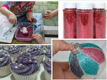 Metallic Glitter Powder Set for Nail decoration, Arts and Crafts