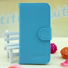 Hot sales flip wallet leather case cover for nokia lumia 520 phone case
