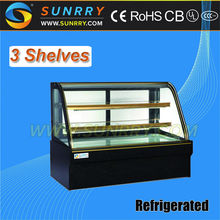 Marble Finish Base 3 Layers Cake Display (SY-CS382B SUNRRY)