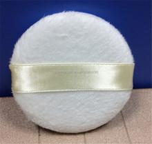 High Quality Nylon Hair Makeup Sponge Soft Cosmetic Powder Puff with Ribbon