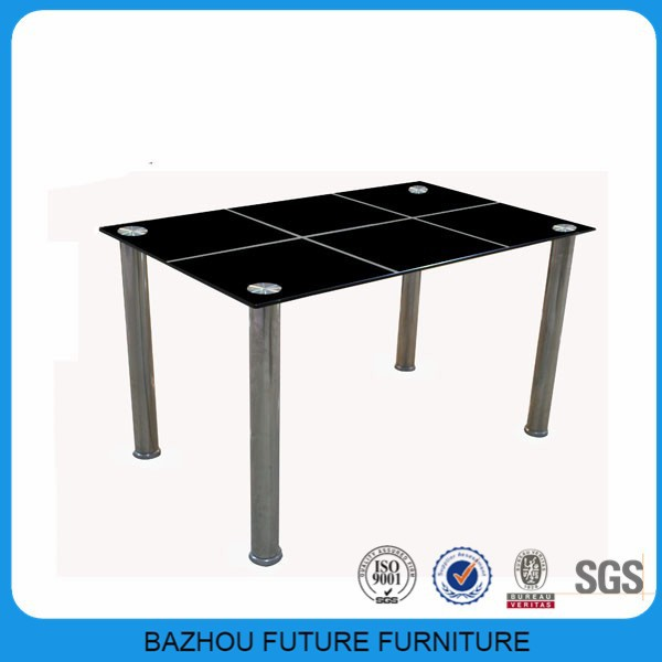 Best PriceBlack Top Glass Dining Table With Modern  : Best price black top glass dining table from alibaba.com size 600 x 600 jpeg 38kB