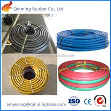 rubber oxygen hose 1/4''-2'' 20 bar 300 psi