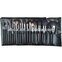 2014 Pro Excellent Wool cosmetic brush sets synthetic hair goat hair pony hair
