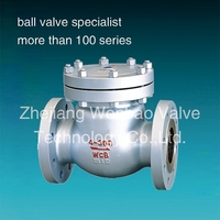 Cast steel swing check valve RF Flanged Ends 150LB