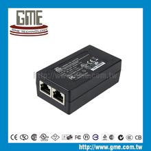 12 W switch poe adaptador e 2 porto