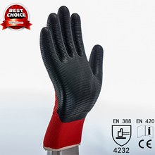 China Supplier 13g Nylon Nitrile Gloves,Gardening Gloves Bulk