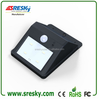 outdoor emergency wireless solar powered motion sensor light