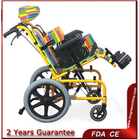 LG-CPW04 Low price pediatric wheelchair for Cerebral Palsy wheelchairlightweight wheelchairs for sale