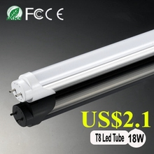 1200mm T8 UL 4FT 6400k fluorescent light tubes 18W Led Light tube lowes lighting department