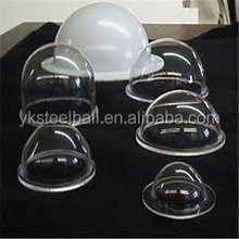 Yuanke Manufacturering acrylic half ball by cutting