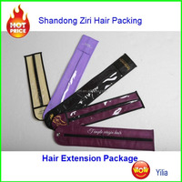 packing for hair extension/hair packaging/ bags for hair extensions