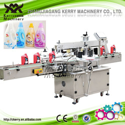 Automatic Double Side Adhesive Sticker Labeling Machine for Laundry Detergent Bottle Labeling