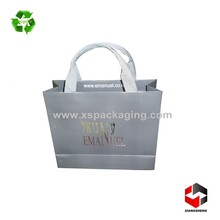 wholesale high quality luxury recycled custom made raw material of paper bag
