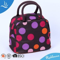 nylon or satin portable picnic bag free shipping