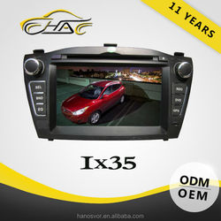OEM ODM 7 inch 2 Din Special For IX35 DVD Car GPS Navigation With Camera/Bluetooth