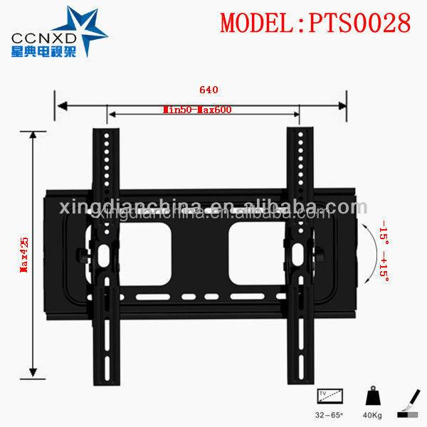 Install Wall Mount Tv Bracket Tv Rack Tv Holder Pts0028