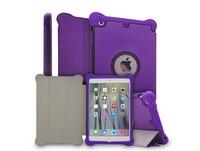 For iPad mini1/mini2 silicone Case, For iPad mini 3 Rotation 360 Case