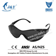 2015 Hot style brand glasses online car glasses case,UV Protect safety glasses,Black Frame Black Lens Goggle