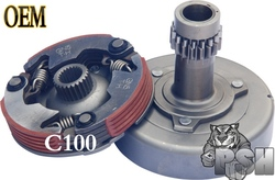 Hot sale motorcycle clutch c100 clutch assemble