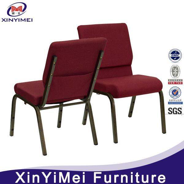 wholesale stacking fabric church chairs wholesale with