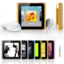 High quality new 6th mp4 player,4gb 3 mp4 player video mp4 video player download