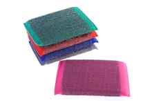 Kitchen scouring pad for cleaning kitchen product stainless steel wool scrubber