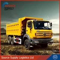 2015 New 380HP 8x4 40 - 50 tons JAC heavy duty dumper Truck / sand tipper truck for sale