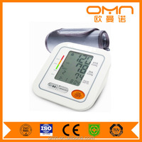 free dample Portable Arm Style Medical LCD Display Digital Blood Pressure Monitor with Fully Automatic