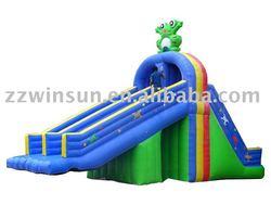 Frog water slide