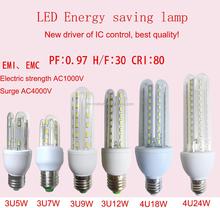 U shape led energy saving light bulb lamp
