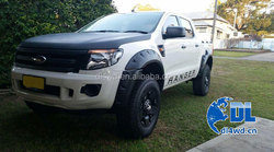 Free logo printed 4wd abs fender flares for ford ranger 2012 2013 2014