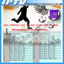 Europe Iptv Account Enjoy 600+channels By Qhdtv Support Android,Xbmc Engima2 Mag25x Stability Inclued Bein Sport 1 Year Free