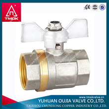 hot sell brass water shutoff valve electric control 220v