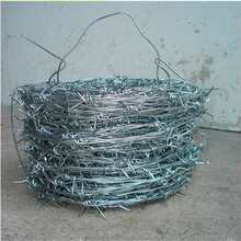 china wholesale 12 14 16 gauge galvanized barbed wire For Sale