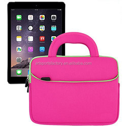 factory price neoprene notebook case bag fit for Apple Ipad 6/5/4/3/2