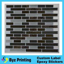 High quality fancy epoxy kitchen tile brick