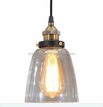 Manufacturer's Glass shade Pendant Lighting