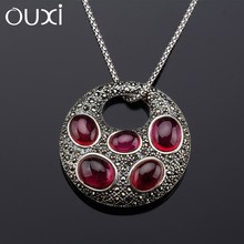 OUXI top sale latest fashion imitation antique silver jewellery